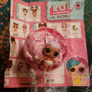 Other - LOL SURPRISE LITTLE SISTERS: LIL SNOW BUNNY